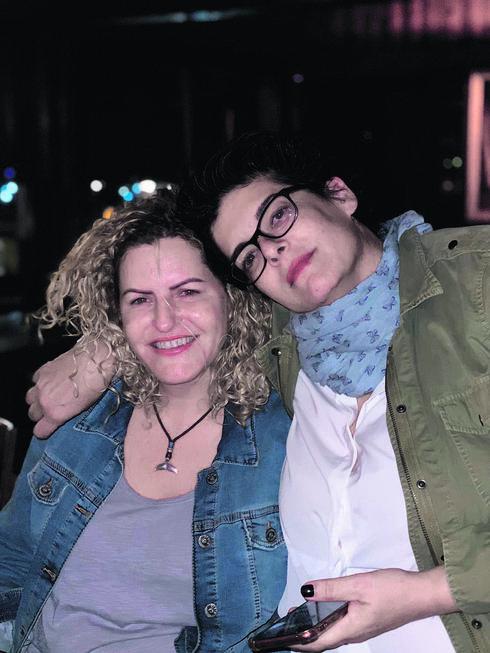 עם בת הזוג דפי