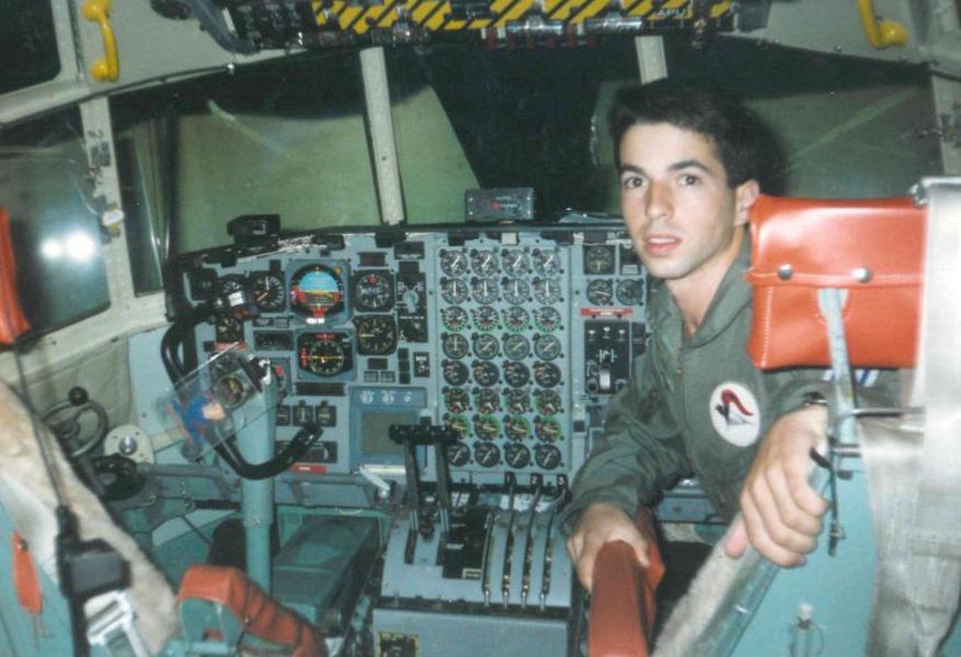 נסים חזן, כטייס בחיל האוויר
