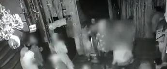 מתוך סרטון הטרדה מינית במועדון בירושלים