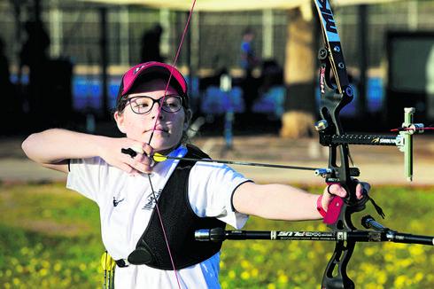 מונסביץ'. הספורטאית-אשה היחידה בנבחרת ישראל