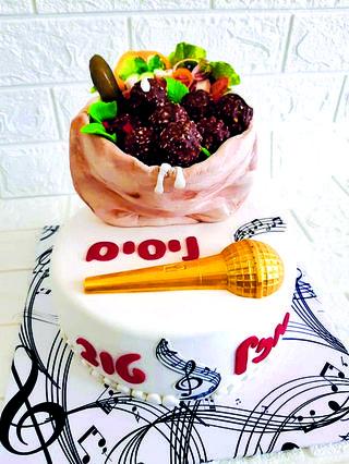 עוגת הפלאפל