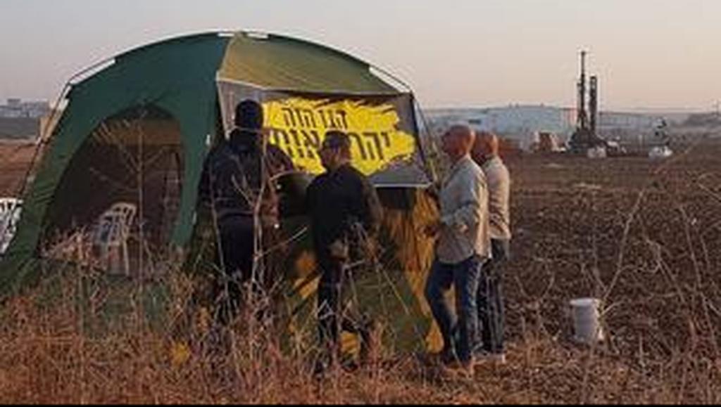 אוהל המאבק בצומת קסם