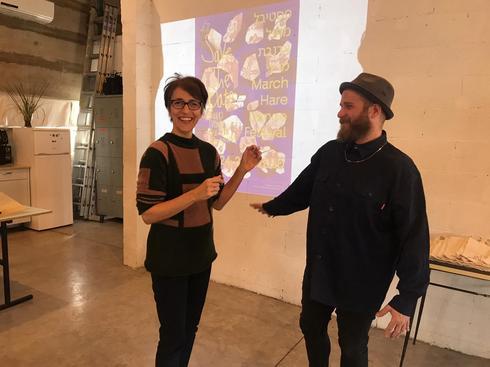 יאיר ורדי וענת דניאלי, מנהלים אמנותיים של פסטיבל ארנבת