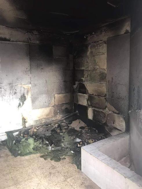 חדר האשפה השרוף