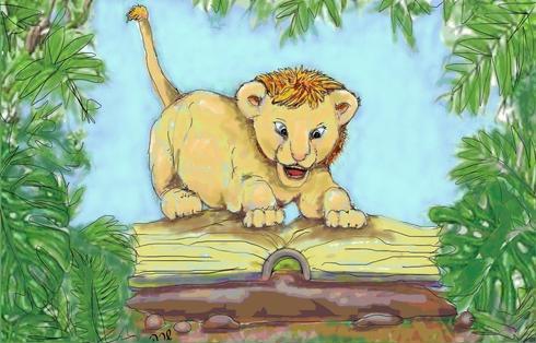 ללמוד כמו אריה -תערוכת אצבעוני