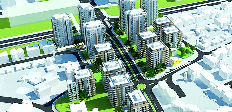 הדמיית השכונה החדשה בכפר יונה