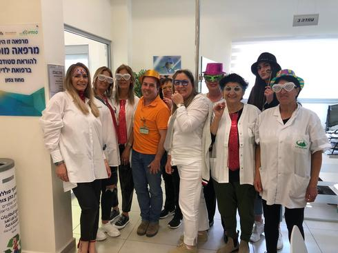צוות מרכז בריאות הילד בית שאן - פורים 2020