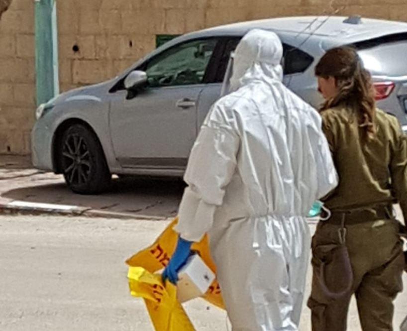 בדיקות הקורונה בשכונות בבאר שבע