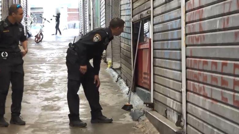 אכיפת משטרה בשוק נתניה