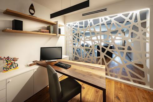 חדר עבודה ביתי. עיצוב: יפרח בן צבי