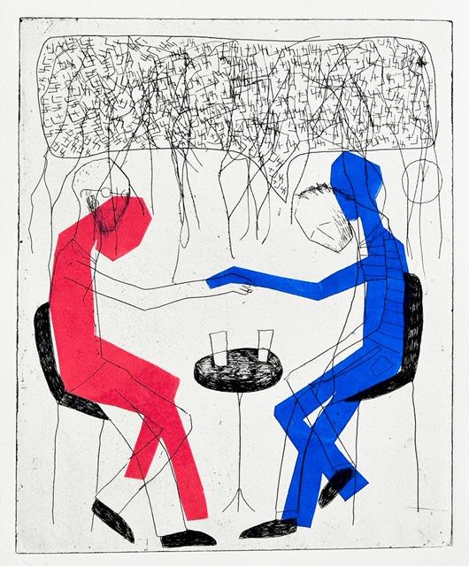 עבודה של אורן פישר, מתוך התערוכה