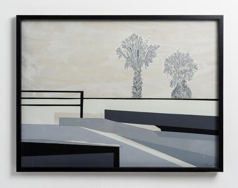 עבודה של גילי סיטון, מתוך התערוכה