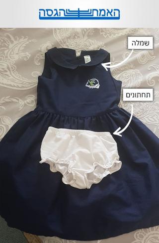 השמלה והתחתונים