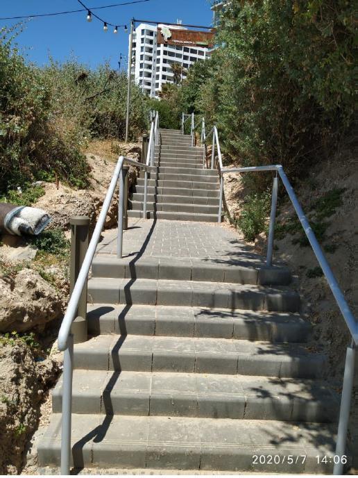 חידוש הירידה לחוף הגולשים
