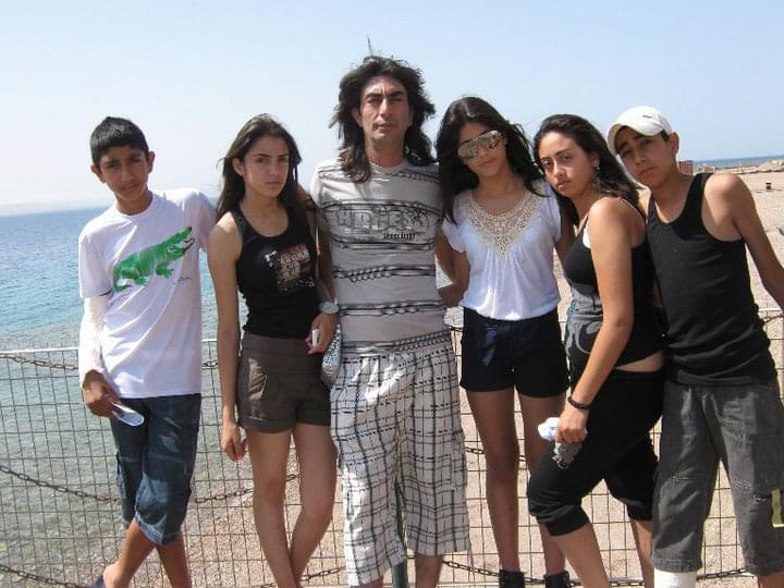 קובי דהן עם משפחתו