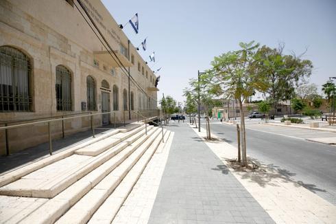 רחוב ההגנה, מרכז המבקרים 'שער הנגב'