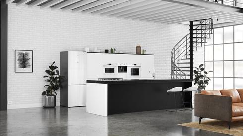 המטבח לובש לבן, מתוך קולקציית מותג מוצרי החשמל TEKA