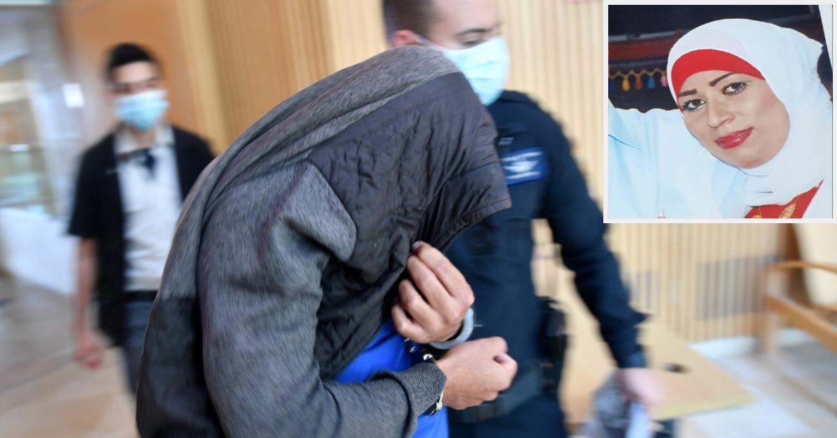 רואן אל-כתנאני (למעלה) והחשוד שמובא להארכת מעצר
