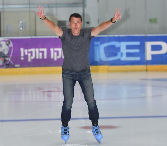 אלכס אברבוך על הקרח