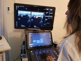 מכשיר סונר חדש במרפאת כללית