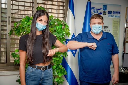 רמי גרינברג עם איילר בבייב