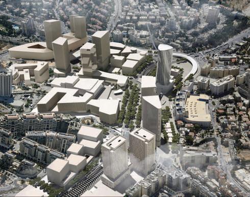 סיטי קורט ברובע העסקים החדש של ירושלים