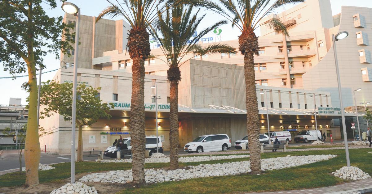 בית חולים 'סורוקה'. גל של אשפוזים