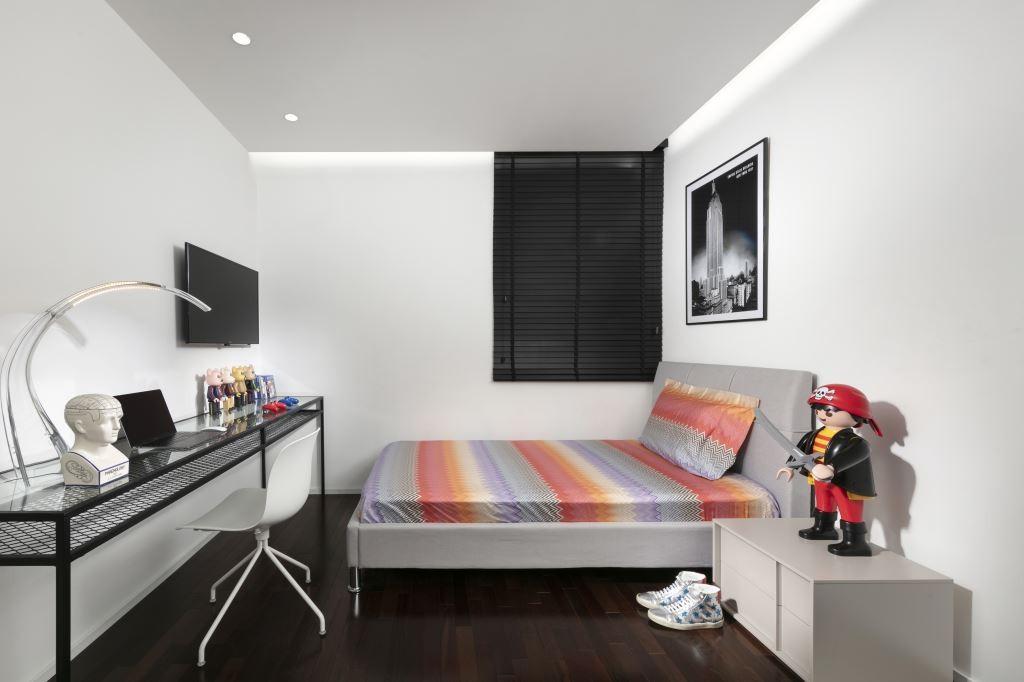 צבעוניות עדינה בחדר הבן