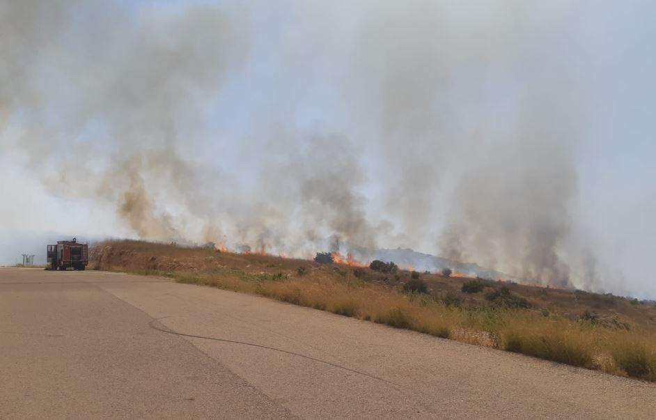 השריפה ליד נחשונים