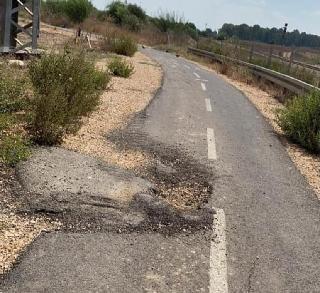 שביל האופניים לתחנת רכבת ראש העין