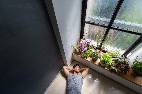 אסף בריגה, זוכה המקום השלישי במרתון הצילום הביתי הראשון