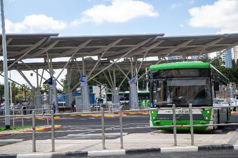 אוטובוס אוטובוסים מסוף אבנת פתח תקוה