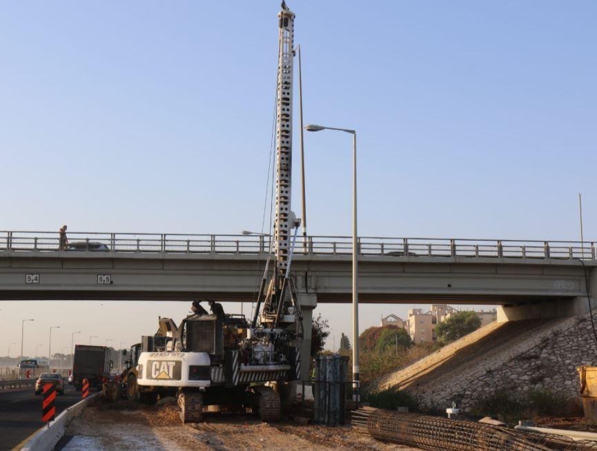 החלו העבודות להרחבת גשר אולגה