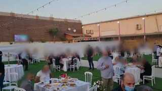 פיזור חתונה בכפר קאסם