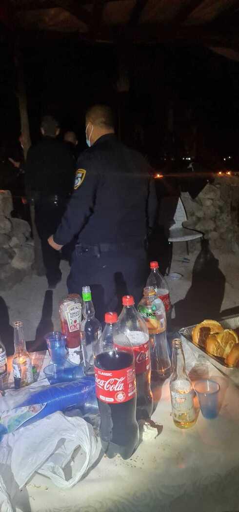המשטרה בפעילות