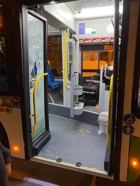 נהג הותקף אוטובוס אפיקים פתח תקוה