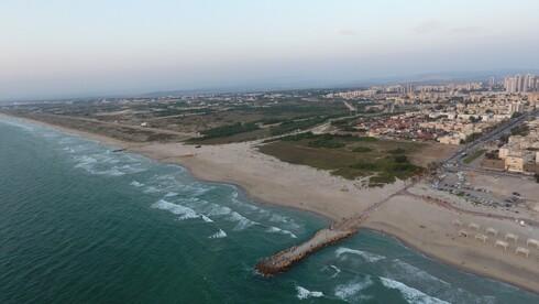 המגרש עליו תיבנה השכונה החדשה בנווה חוף