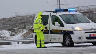פעילות משטרתית במזג אוויר סוער