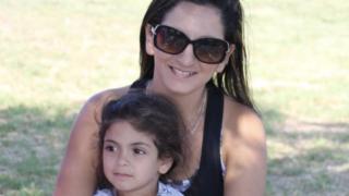 אודליה קליינמן ובתה עופרי
