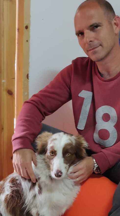 טל ברודר וכלבתו למען הדור הצעיר