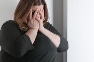 אישה שמנה עודף משקל