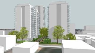 כך תיראה התוכנית להתחדשות עירונית במרכז העיר