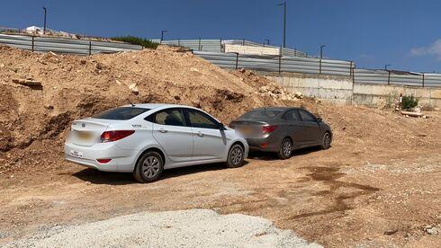 המכוניות שאותרו בפסגות אפק