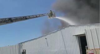 שריפה כפר קאסם