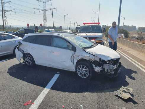 תאונה כביש 5