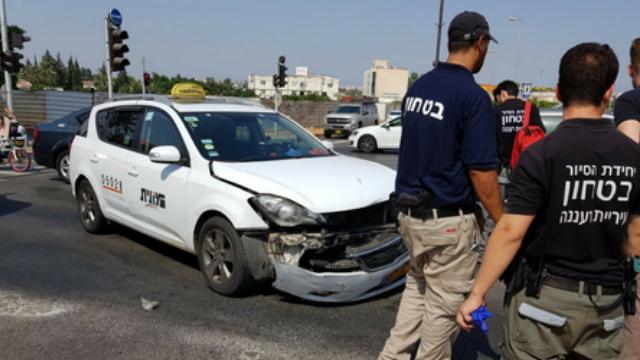 תאונת דרכים ברחוב ויצמן
