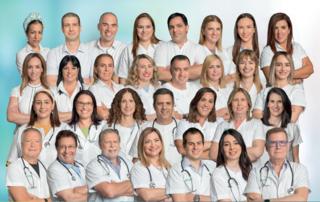 אנשי צוות ממרפאות קריות ומרכז רפואי זבולון