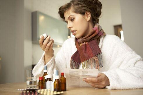 אישה תרופות