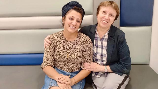 אלנה גינזבורג ונטליה