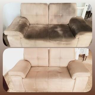 ניקוי ספות - לפני ואחרי